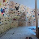 boulder klub pentagon lezecka stena tabor