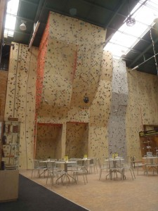 lezecka stena brno klajda