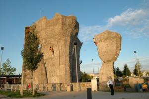 venkovni lezecka stena olympia brno