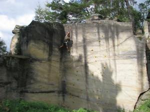 Lezecká stěna Ubytovací hostinec Na Skalách