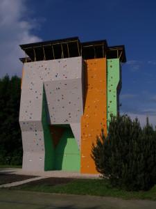 venkovni lezecka stena ceske budejovice lanovka 2