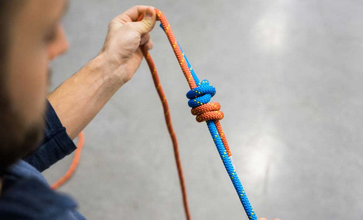 Dvojitý rybářský uzel